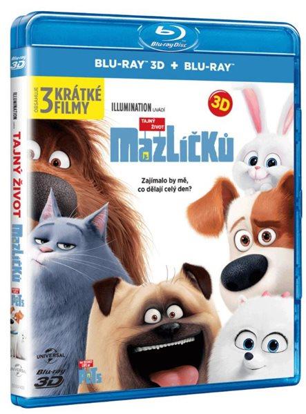 Tajný život mazlíčků Blu-ray 3D + 2D