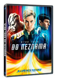 DVD Star Trek: Do neznáma