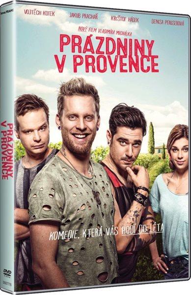 DVD Prázdniny v Provence - Vladimír Michálek