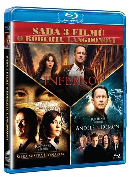Dan Brown kolekce 3 Blu-ray - Ron Howard