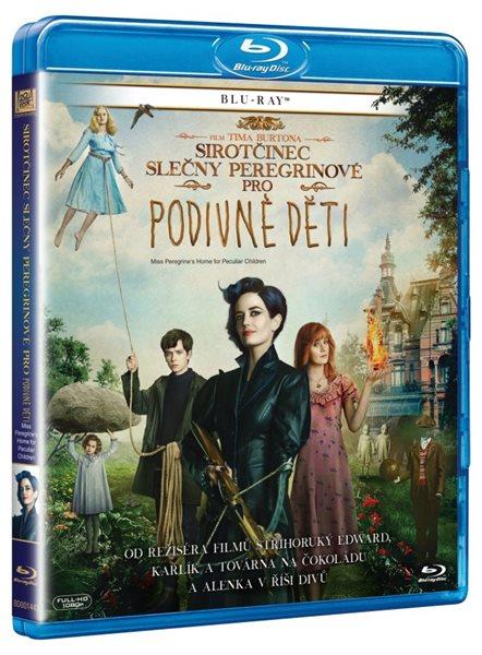 Sirotčinec slečny Peregrinové pro podivné děti Blu-ray - Tim Burton