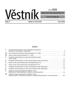 Věstník Min.zdravotnictví 2020/007