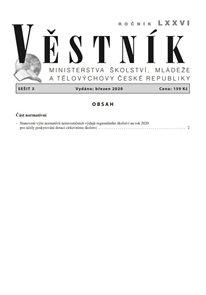Věstník MŠMT ČR 2020/003