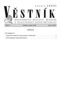Věstník MŠMT ČR 2020/005