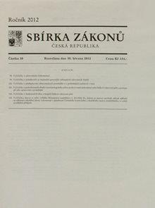 Sbírka zákonů 039/2012