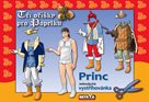 Vystřihovánka - Princ - Tři oříšky pro Popelku