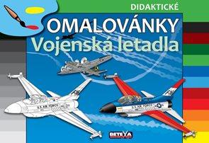 Omalovánky - Vojenská letadla ( didaktické omalovánky )