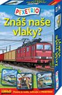 Pexetrio - Znáš naše vlaky ?