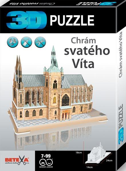 Chrám Svatého Víta - 3D puzzle