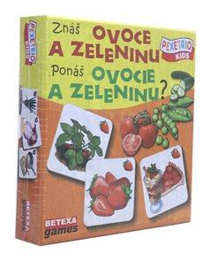 Pexetrio Kids - Znáš ovoce a zeleninu ?