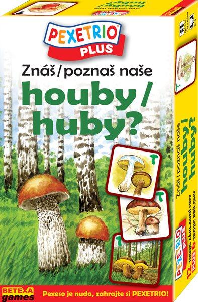 Pexetrio - Znáš naše houby ?