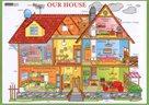 Our House - tabulka lamino A4