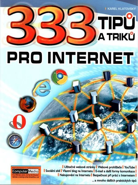 333 tipů a triků pro internet - Klatovský Karel - 17x23 cm