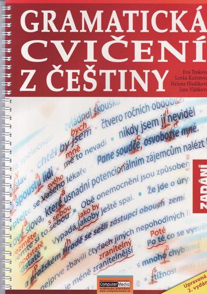 Gramatická cvičení z češtiny, 2. vydání - Tinková E. a spol - 218 x 296 x 10 mm