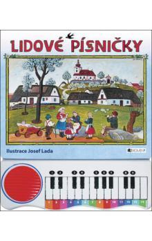 Lidové písničky s piánkem - Lada Josef - 24x30