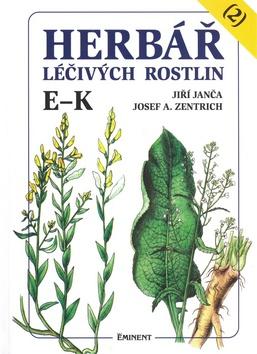 Herbář léčivých rostlin (2) E - K - Josef A. Zentrich, Jiří Janča - 15x21