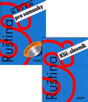 Ruština nejen pro samouky učebnice + CD - 15x21