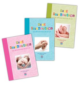 Tvůj fotodeníček od těhotenství do tří let - RŮŽOVÝ - Jana Abelson Tržilová - 17x24, Sleva 20%