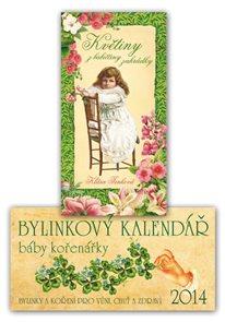 Bylinkový kalendář báby kořenářky 2014 + Květiny z babiččiny zahrádky