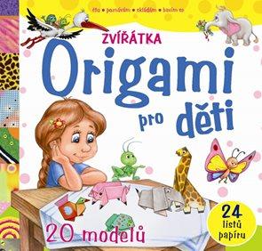 Origami pro děti Zvířátka - 20 modelů
