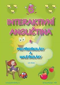 CD Interaktivní angličtina 2 pro předškoláky a malé školáky