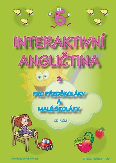 CD Interaktivní angličtina 2 pro předškoláky a malé školáky - Štěpánka Pařízková - 14x19