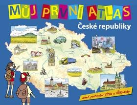 Můj první atlas České republiky - Štěpánek Vít - 24x31, Sleva 16%