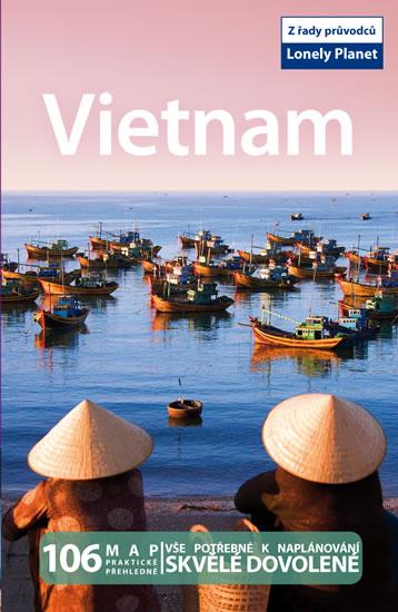 Vietnam turistický průvodce Lonely Planet - 13x20