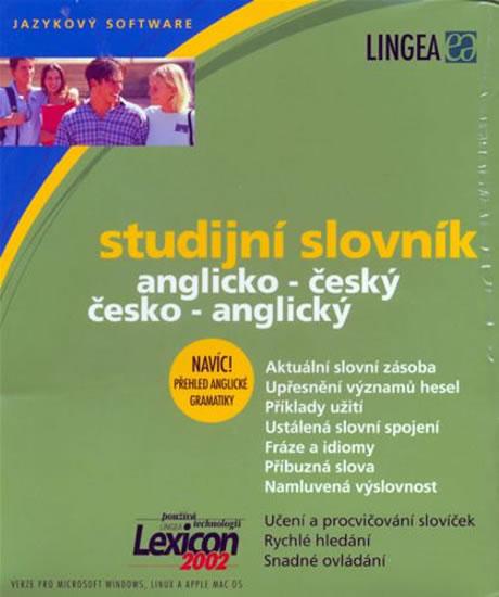 Anglický studijní slovník - CD-ROM - 16x19 cm