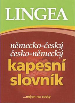 Kapesní slovník Německo-český - neuveden - 9x13