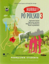 Hurra !!! Po polsku 3 - učebnice + audio CD