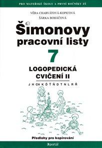 Šimonovy pracovní listy 7 - Logopedická cvičení II 2. vydání