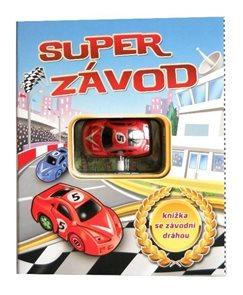 Super závod - leporelo s autodráhou