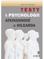 Testy k Psychologii Atkinsonové a Hilgarda - Carlson g. John - A4, brožovaná