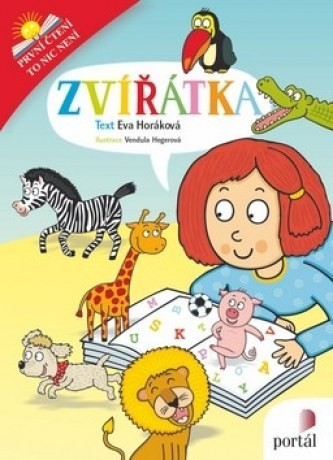Zvířátka - První čtení, to nic není - Eva Horáková - 17x22