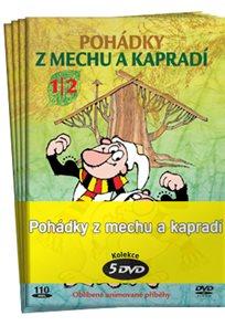 Pohádky z mechu a kapradí kolekce 5 DVD