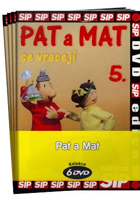 Pat a Mat kolekce 6 DVD