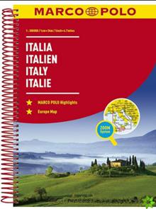 Itálie - autoatlas MarcoPolo - 1:300 000