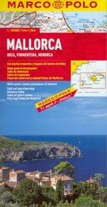 Baleárské ostrovy - Mallorca, Menorca, Ibiza, Formentera - mapa Marco Polo - 1:150 000 /Španělsko/