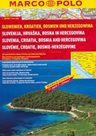Chorvatsko, Slovinsko, Bosna a Hercegovina - autoatlas MarcoPolo - 1:300t