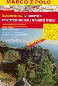 Česká republika - autoatlas Marco Polo - 1:200 000