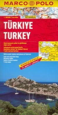 Turecko - mapa Marco Polo - 1:800t