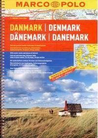 Dánsko - autoatlas Marco Polo - 1:200 000 - A4