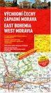 Česká republika 2 - východní Čechy, západní Morava - mapa Marco Polo - 1:200 000
