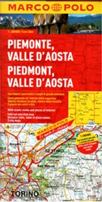 Itálie 1- Piemont, Aostatal - mapa Marco Polo - 1:200 000