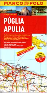 Itálie 11- Apulie - mapa Marco Polo - 1:200 000