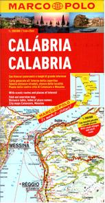 Itálie 13  Kalábrie - mapa Marco Polo  - 1:200 000