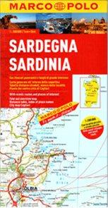 Itálie 15- Sardinie -mapa Marco Polo - 1:200 000