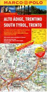 Itálie 3- Jižní Tyrolsko, Trentino - mapa Marco Polo - 1:200 000
