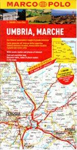 Itálie 8- Umbria, Marche - mapa Marco Polo - 1:200 000